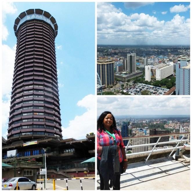 KICC views Nairobi