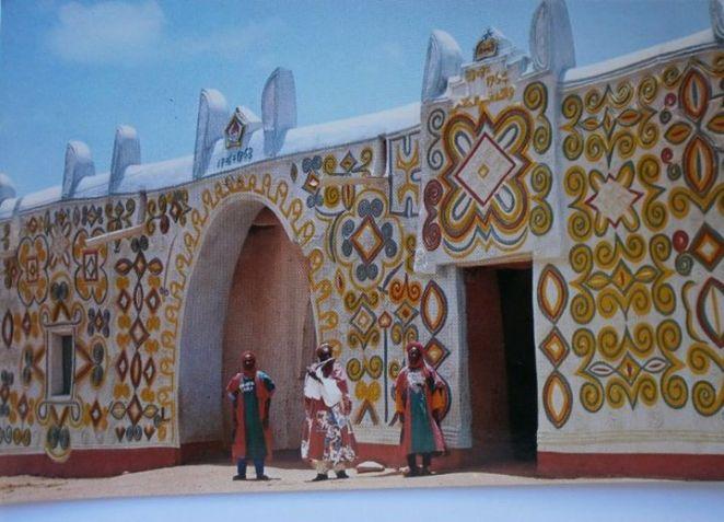 Emir of Zarias Palace in Kaduna 1973