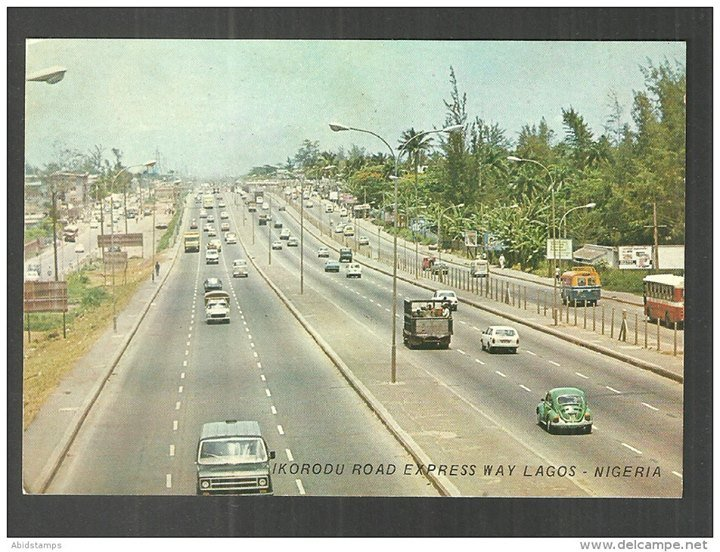 Ikorodu expressway, Lagos 1970s