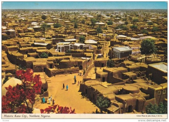 KANO CITY, Nigeria, 1950-1970's; General View Of Historic Kano City