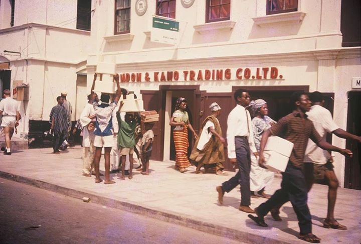The London and Kano trading company, Lagos