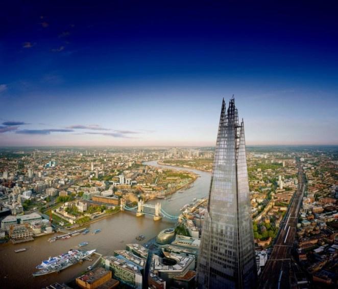 the-shard-tower-bridge -London-landscape