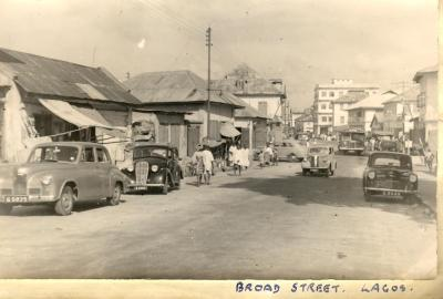 Old Broadstreet Lagos,1960
