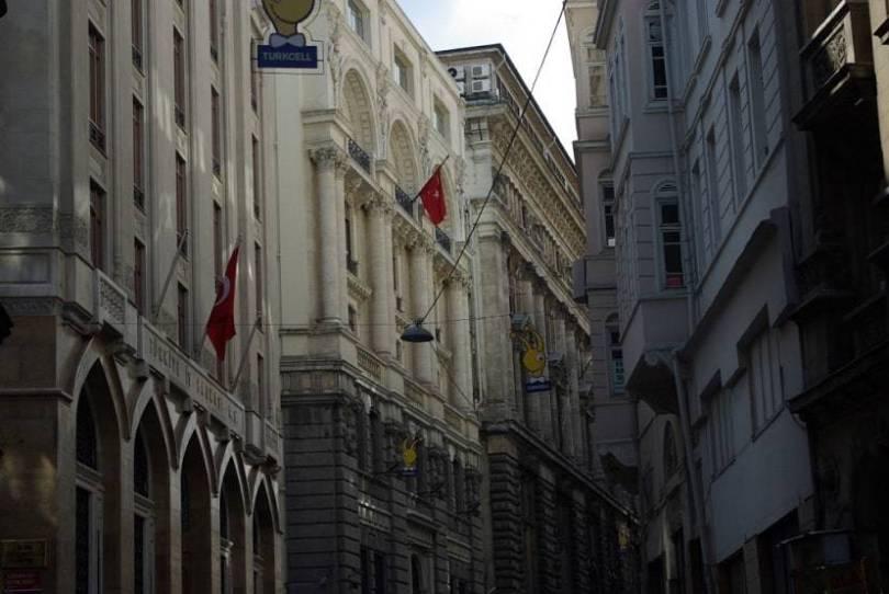 Banks Street Karakoy Istanbul