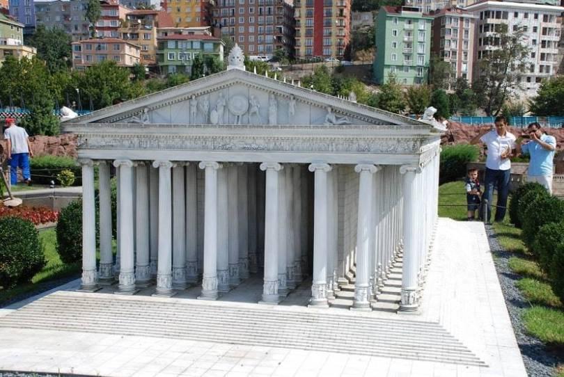 Temple of Artemis Miniaturk Park