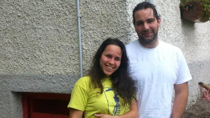 Valentina e Lorenzo del Rifugio Pian delle Bosse