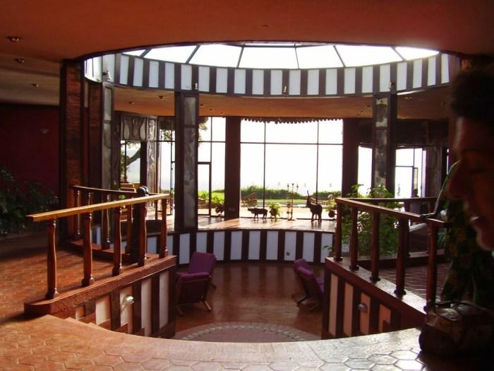 L'ingresso al nostro lodge, il Ngorongoro Sopa Lodge