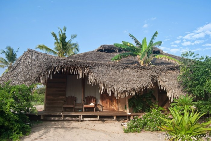 Il nostro bungalow: molto wild (come piace a me)!