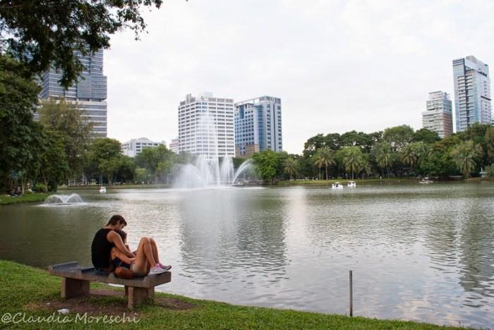 Il parco Lumphini, il polmone verde di Bangkok
