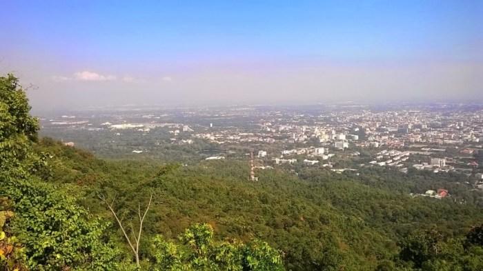 Chiang Mai vista dall'alto