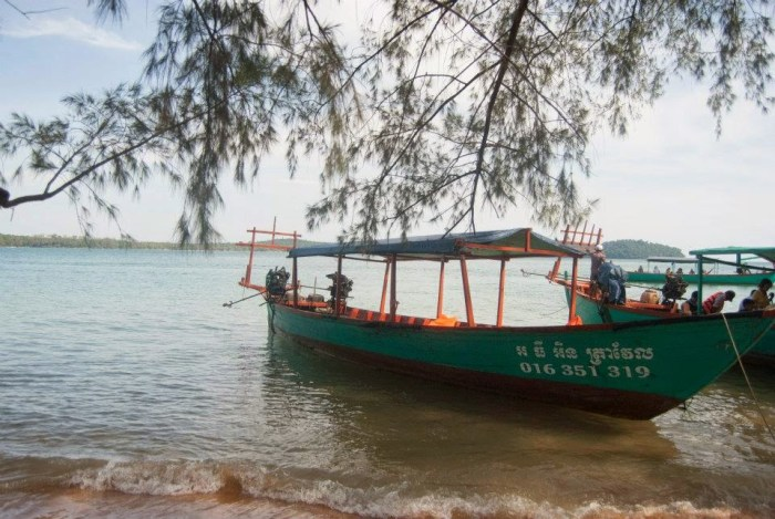 Relax in spiaggia a Sihanoukville