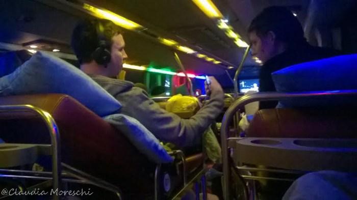 Interno sleeping bus