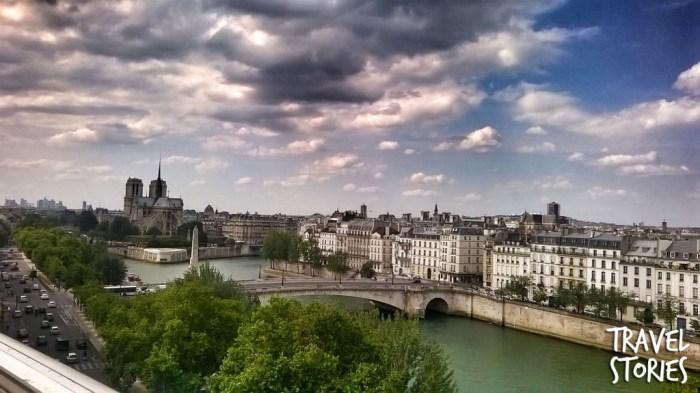 Una pausa super gratificante al caffè panoramico dell'Istituto di Cultura Araba di Parigi