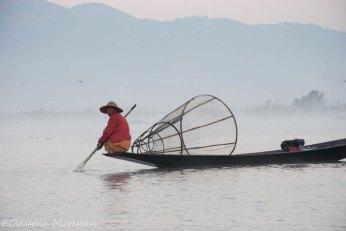 Pescatore sul Lago Inle