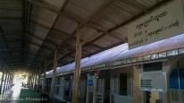 La stazione di Shwe Nyaung, Myanmar