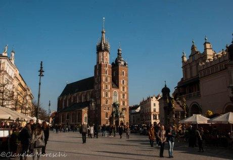 Piazza del Mercato, Cracovia