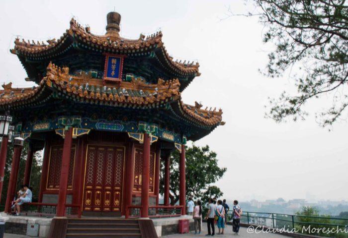 All'interno del Parco Jinshan
