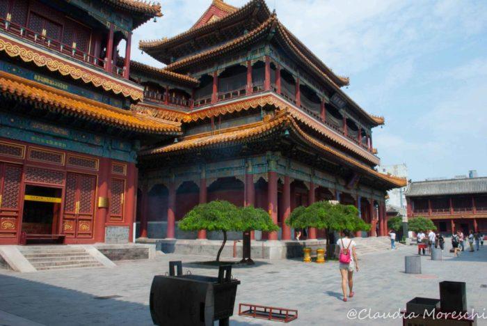 Nel Tempio dei Lama