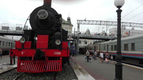 stazione transiberiana a Vladivostok