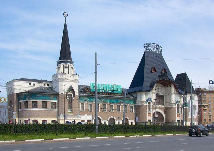 La stazione Yaroslavsky a Mosca