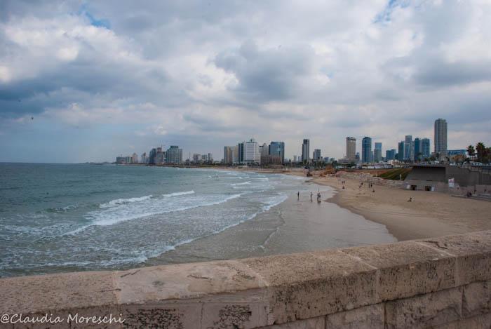 Vista su Tel Aviv
