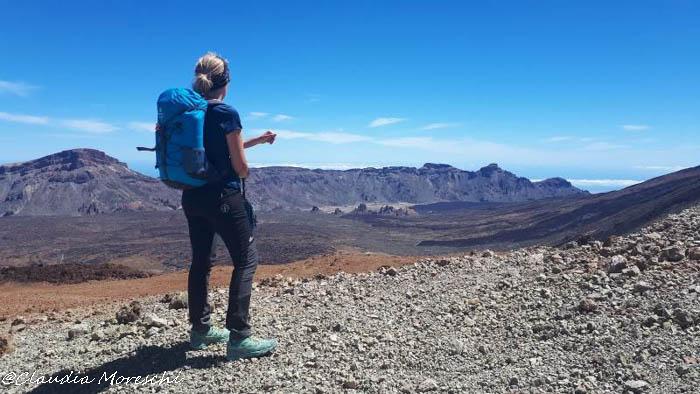 Salendo verso il Teide