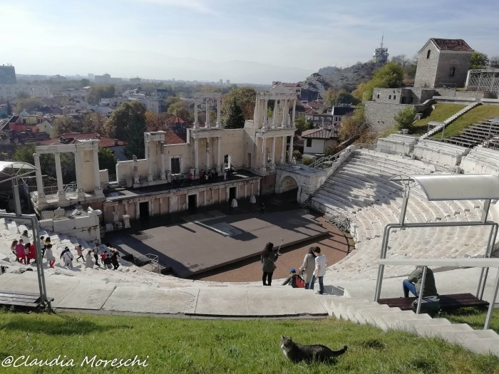 L'anfiteatro di Plovdiv