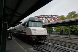 Il mio primo treno americano