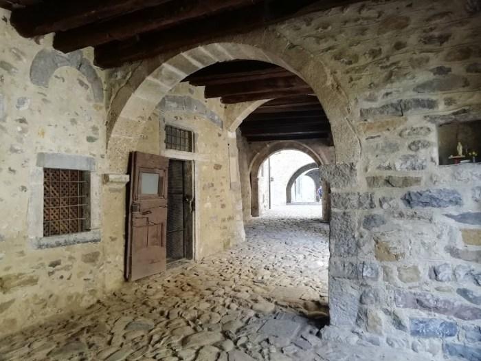 Il borgo di Cornello dei Tasso, in Val Brembana