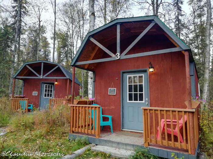Cabin alaskana a Talkeetna