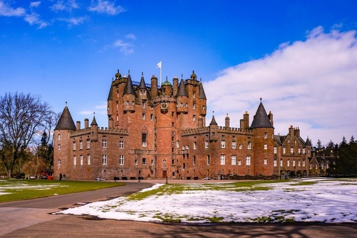 Most Beautiful Castles in Scotland | Glamis Castle
