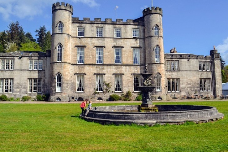 Stay in a castle in Scotland | Melville Castle Hotel