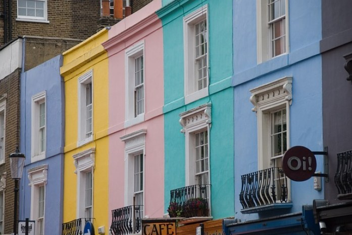 4 days in london-notting hill