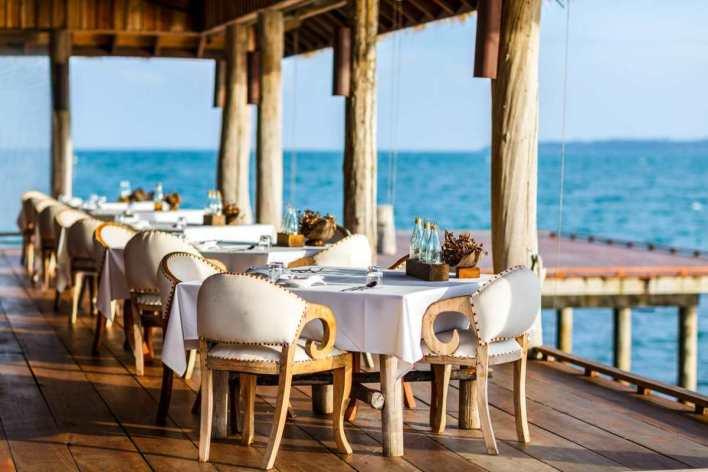 Song Saa Private Island εστιατόριο