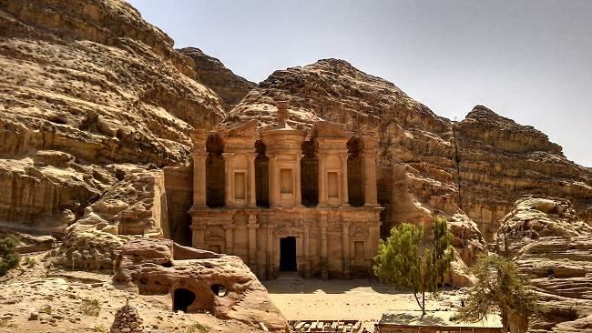 monastery petra travel blog.