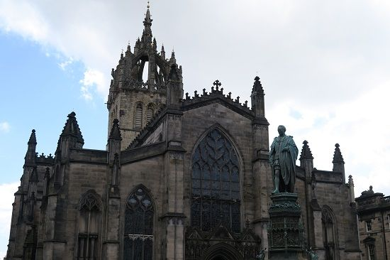 st giles capital of scotland edinburgh.