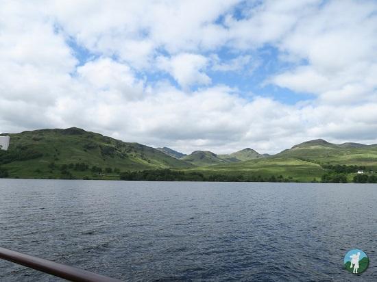 loch katrine cruise weekend in the borders.