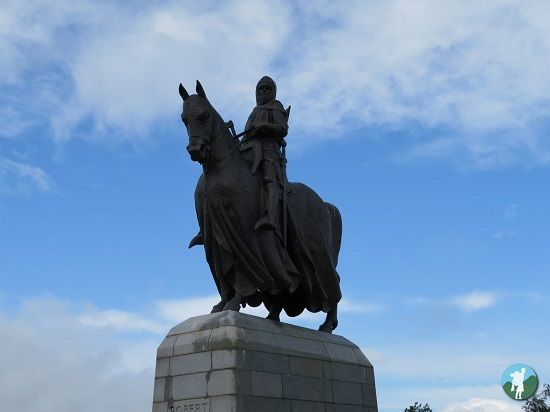 things to do in Stirling bannockburn statue.