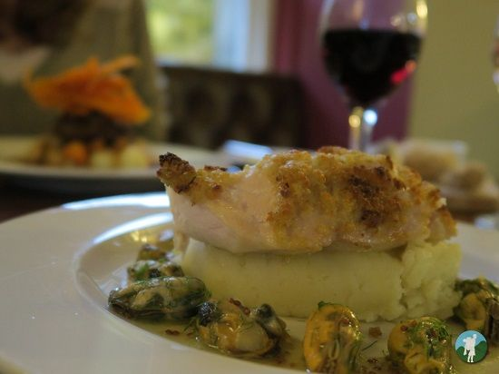 fish dinner melville castle review.