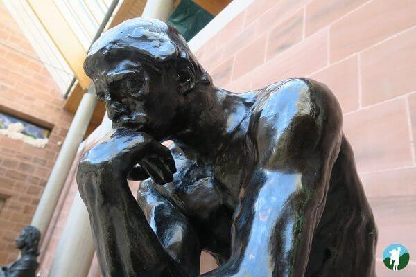 thinker burrell collection cultural glasgow