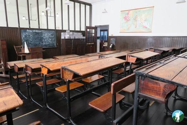scotland street school museum classroom cultural glasgow