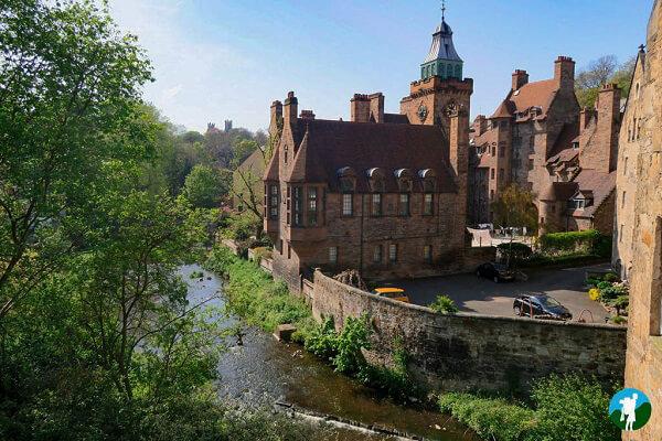 dean village water of leith edinburgh on a budget