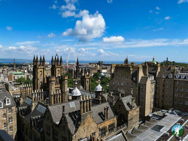 fountain court apartments camera obscura edinburgh view