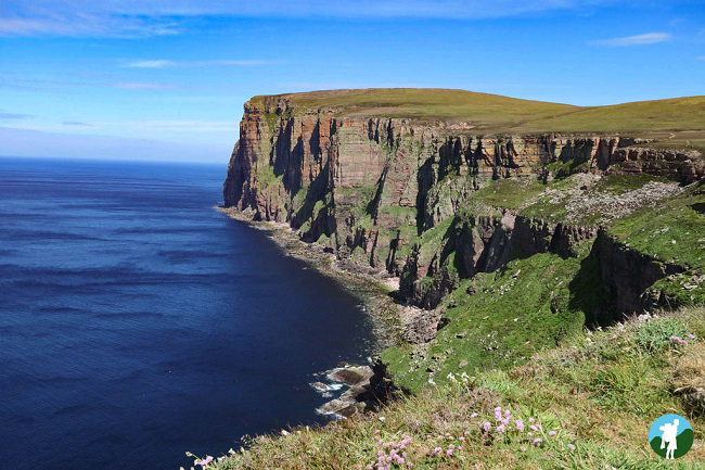 cliffs at old man of hoy day trip