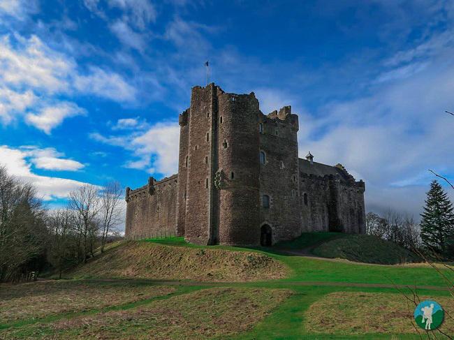 doune castle scotland photo blog