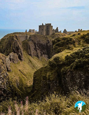 dunnottar castle view landscape