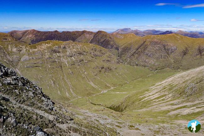 view over glen coe