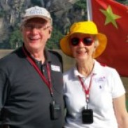 David & Kathy on the Yangtze