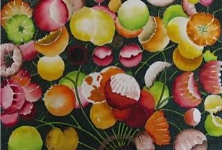 Poppies, one of Noels most popular botanical paintings