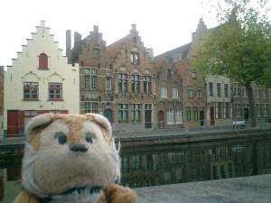 Front of Old Bruge Buildings